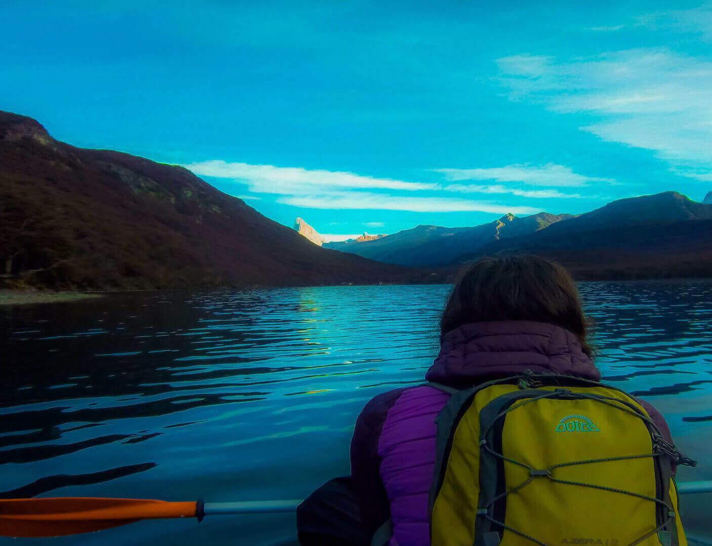 kayak lago del desierto 2